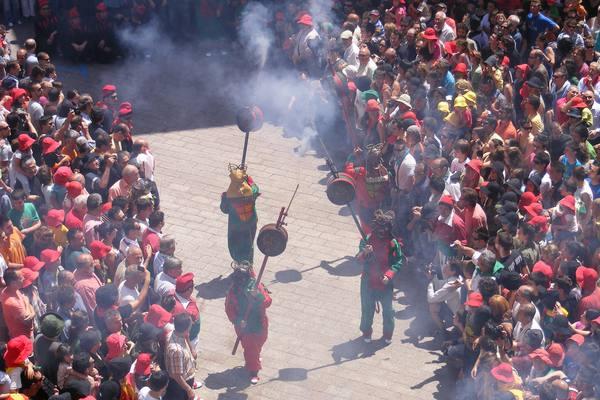Fiesta de la Patum, Berga, imagen de la tradición