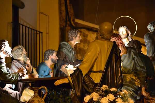 Resultado de imagen de PASOS DE JESUS EN LA ULTIMA CENA