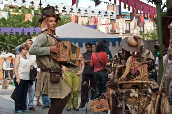 mercado cervantino de alcalá de henares - madrid- imagen evento