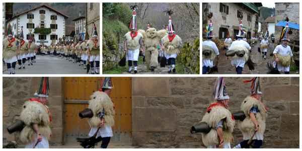 Collage Carnaval de Ituren y Zubieta reduc