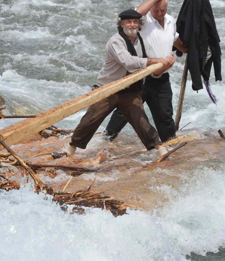 Descenso de Nabatas por el Rio Cinca
