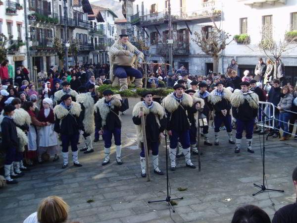 Olentzero de Lesaka - Tradición - Navarra - imagen1