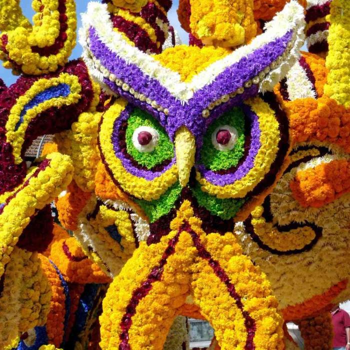 ¿Cuándo surge la fiesta de la  Batalla de Flores de Laredo?
