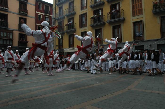 Bordon Dantza - Tolosa -Tradición - Imagen de este balie