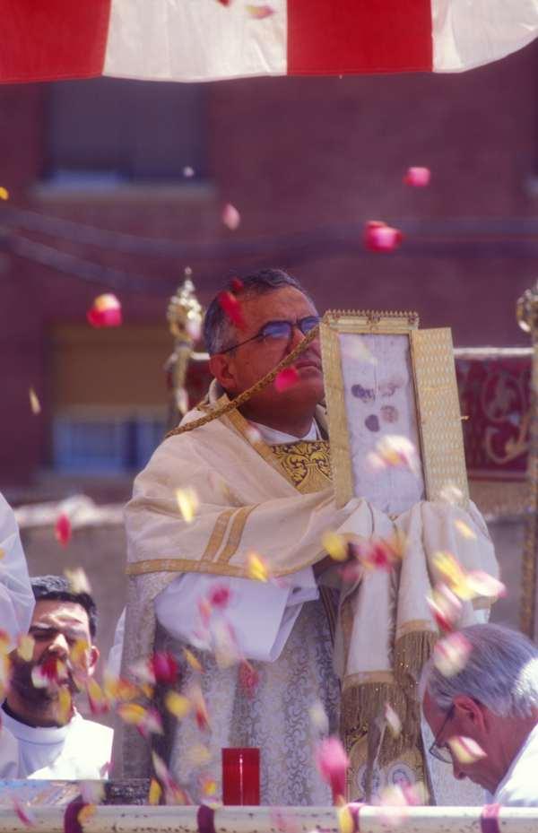 corporales daroca- CorpusChristi -Tradición- imagen3 de la procesion