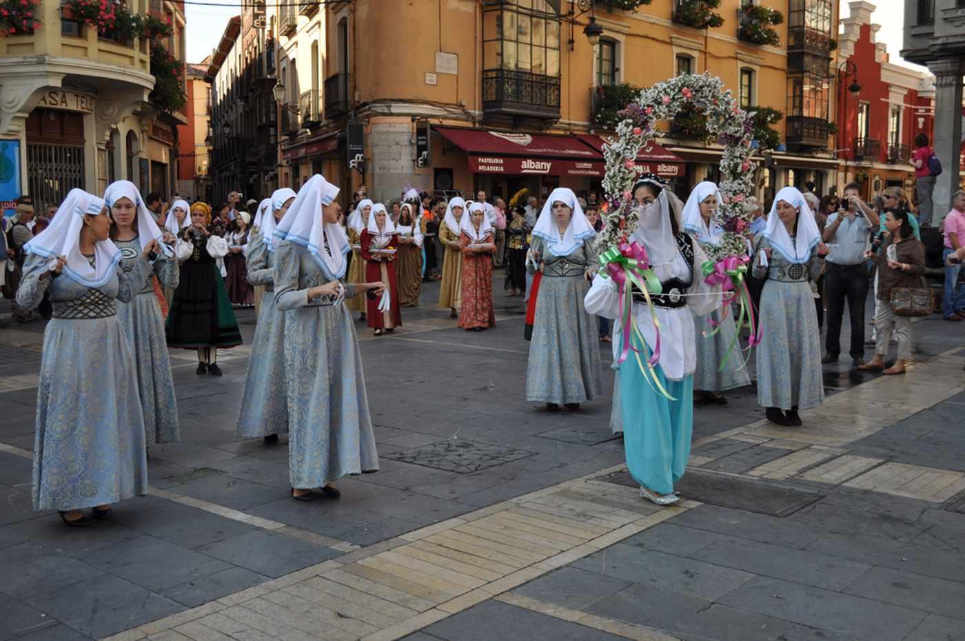 Ceremonia de las Cantaderas