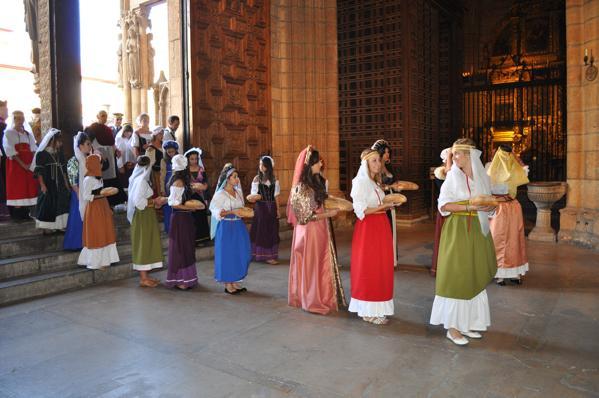 Ceremonia de las Cantaderas - León - imagen tradición