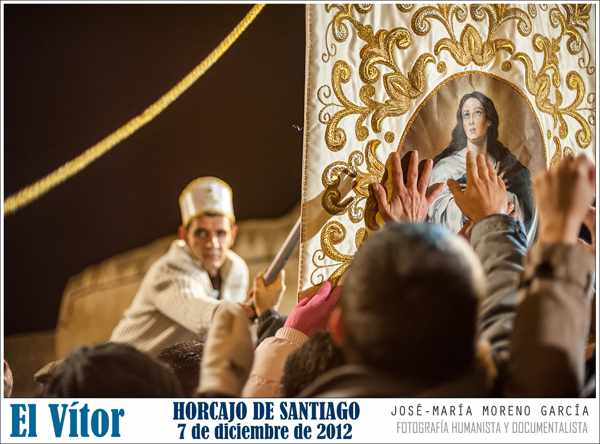 El Vítor de Horcajo de Santiago-procesión- tradición - imagen evento