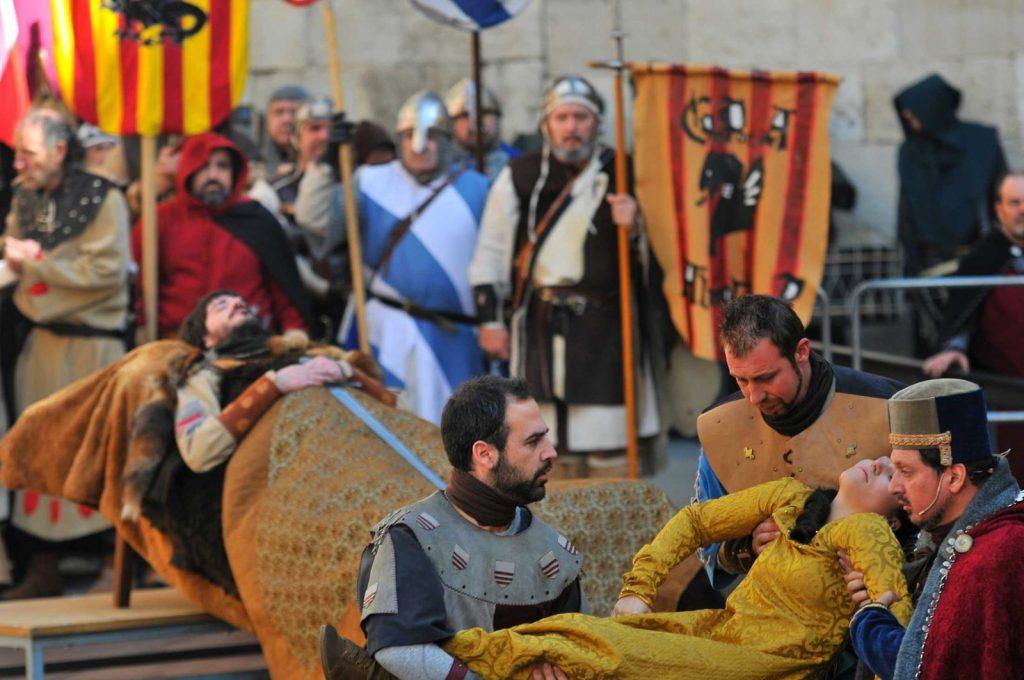 Bodas de Isabel de Segura. Posiblemente, la mejor fiesta medieval de España