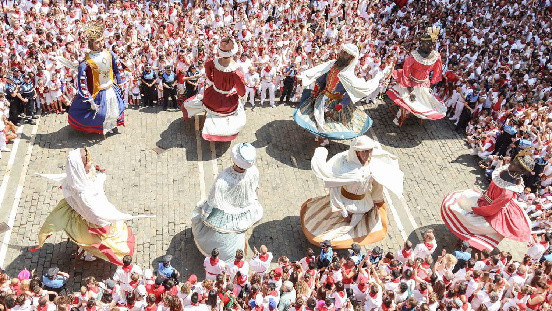 Gigantes y Cabezudos de Pamplona