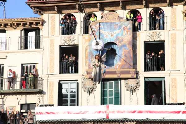 Bajada del Ángel - Tudela- Tradición- Navarra-blog-imagen 2