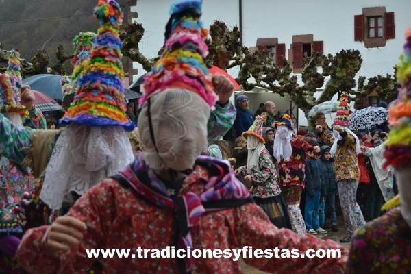 carnaval de lanz - navarra - fiestas - imagen1