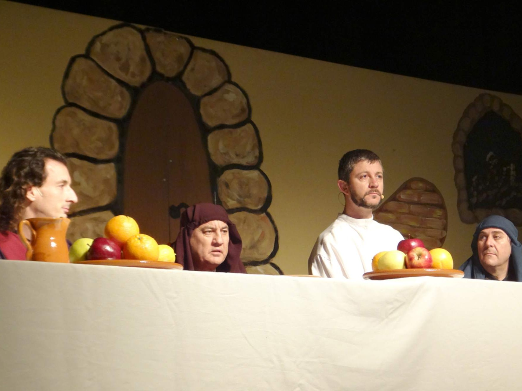 Representación de la Pasión de Cristo en Tudela