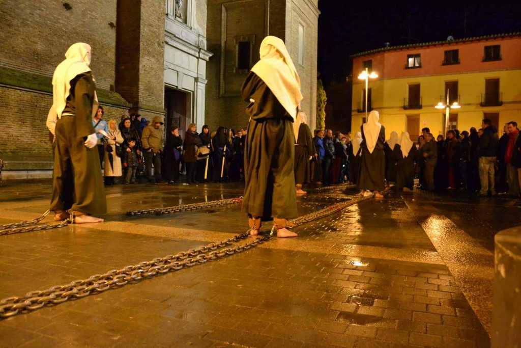 Procesión de Viernes Santo en Corella, un desfile original y diferente