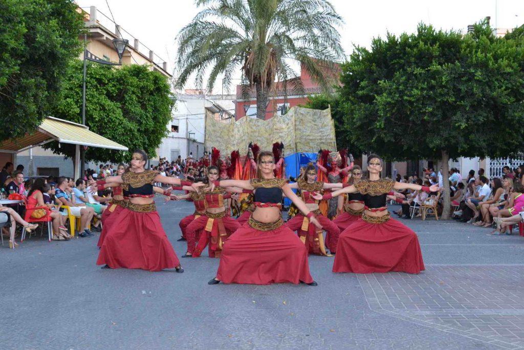 Desfile Íbero-Romano en las fiestas de Sodales