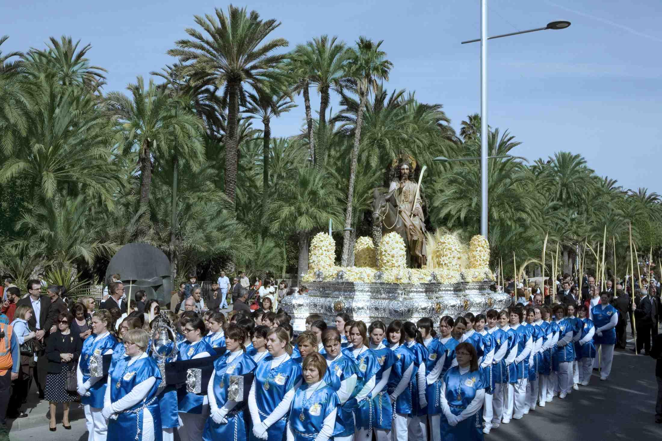 Procesión de las Palmas en Elche