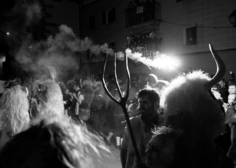 Momotxorro, el gran protagonista del Carnaval de Alsasua