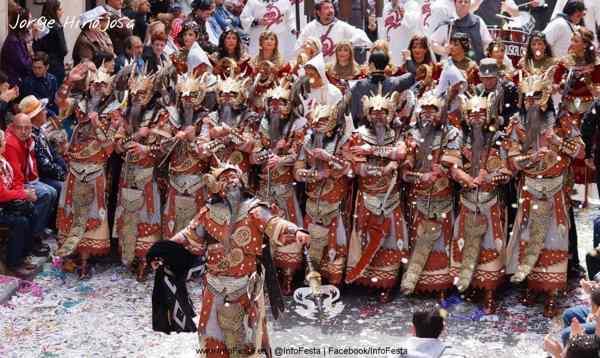 Moros y Cristianos en Alcoy - Alicante - Fiestas - imagen4