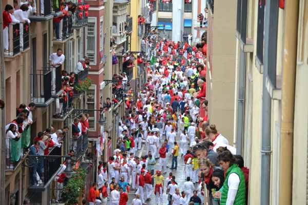 los mejores balcones del encierro en sanfermines - pamplona - fiestas -imagen11