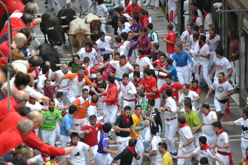 Vive el Encierro de Pamplona
