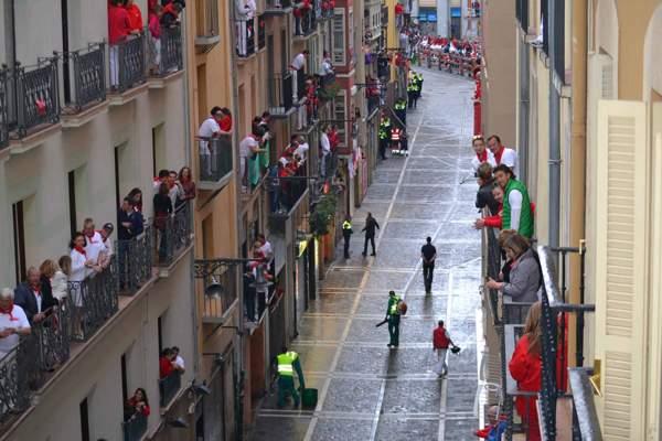 los mejores balcones del encierro en sanfermines - pamplona - fiestas -imagen12