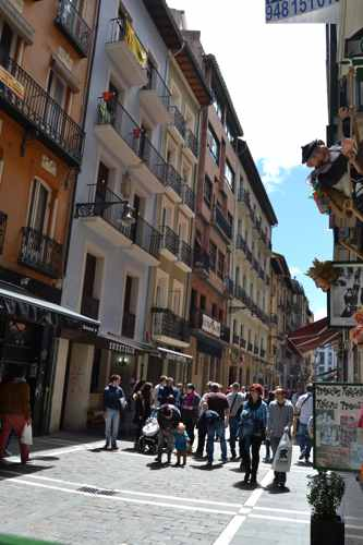 los mejores balcones del encierro en sanfermines - pamplona - fiestas -imagen10