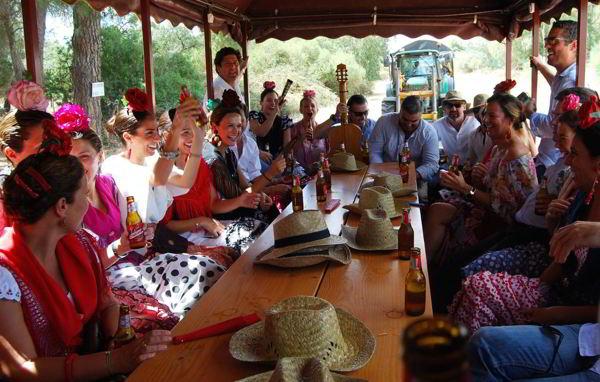 Romería del Rocío-Almonte -Huelva-tradición- imagen1